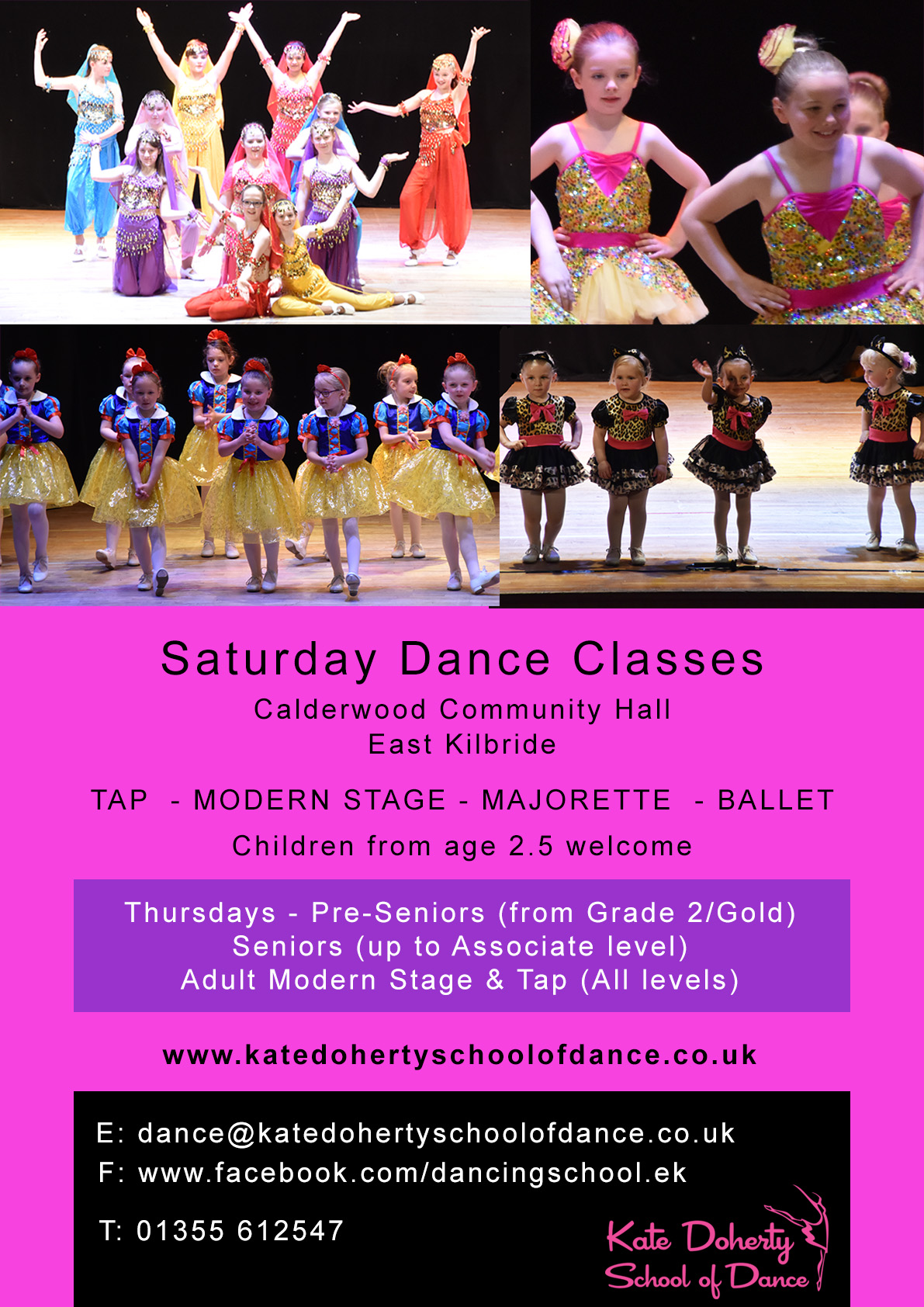 Dance school East Kilbride 2018
