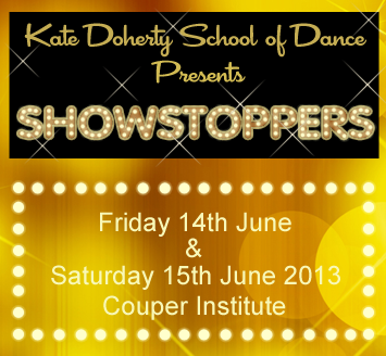 Dancing show 2013 cover
